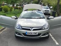 Volkshall Astra 1.8 petrol manual convertible +full service history with volkshall+1year mot+1owner