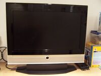 """VISTRON 26""""HD LCD TV WITH FREEVIEW - HDMI/VGA & SCART - COMPLTE WITH STAND & WALL BRACKET"""
