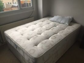 Perfect condition two double beds - together or separate - no reasonable offer refused