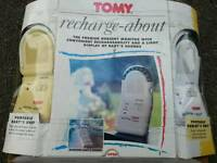 Tomy Recharge Baby Monitor With Manual. Good working condition the box is abit tatty