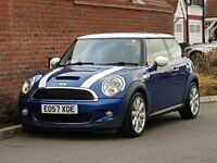 Mini Cooper S Turbo (2007/57) + NEW SHAPE + R56 + TURBO + HIGH SPEC + LEATHER + FSH + SPORTY +