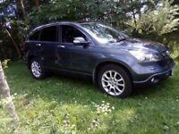 Honda Cr-V I-CTDI EX + PANORAMIC ROOF + NAV + CAMERA + LEATHER 2.2 LOW MIL
