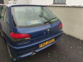 Peugeot 306 Meridian 5 Door 1.3 Petrol
