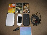 Sony PSP with all accessories and games