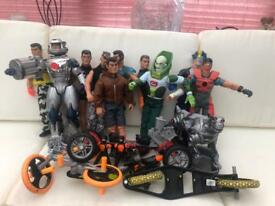 Action men. Bundle or Can purchase individually £4.5