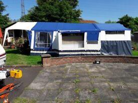Suncamp 400 se Trailer-Tent 7m x 4.9 m