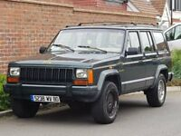 Jeep Cherokee XJ 4.0 Limited Auto (LHD) LEFT HAND DRIVE + 1 OWNER + FSH + FRENCH REG + 4X4 +