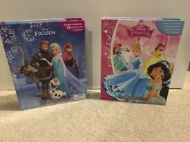 Disney Princess and Frozen busy books