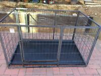 Dog Health professional puppy /dog pet run with tray