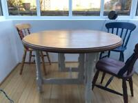 Dining Table round plus chairs if you want