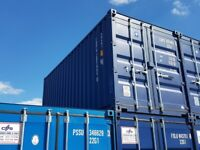20ft Steel Storage / Shipping Container for sale. New condition. Easy open doors. Valid CSC plate.