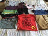 Boys Clothes Bundle Age 8-9 (15 items).