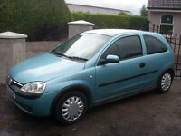 2003 Vauxhall Corsa 1.2 Elegance Automatic, Only 78000 Genuine Miles