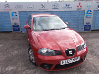 Part ex Direct offers for sale nice clean Seat Ibiza 1.4 3dr comes with new mot and service !!