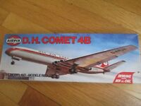 Airfix Plastic Aircraft Model Kit, Dan-Air De Havilland Comet 4B, Scale 1/144