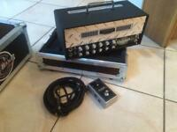 Mesa mini-rectifier head, Mesa straight mini cab and hard case for head