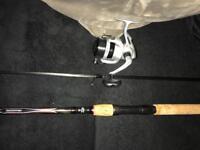 New Daiwa sweepfire rod and Daiwa reel