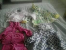 Girls bundle clothes 6-9 month