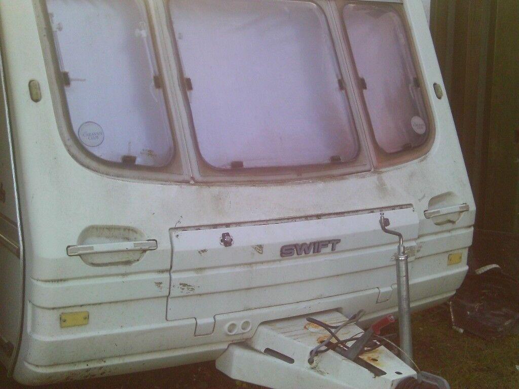 swift 2 berth caravan spares or repair