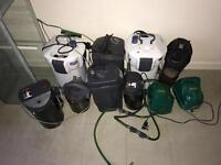 Aquatic equipments and tanks for sale