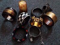 Bracelets - variety, all new