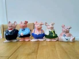 NatWest pig set