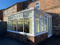 Conservatory 3.6m x 3.6m complete with extras