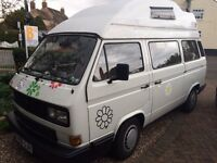 Lovely camper van called Daisy. Many extras included. Ready to go to good home only!