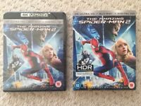 Amazing Spider-Man 2 - 4K UHD, Blu-ray, Digital - New & Factory Sealed