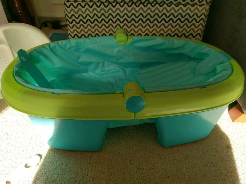 Summer baby bath and top and tail bowl