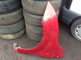 CITROEN C2 2003-10 PASSENGER SIDE WING IN RED