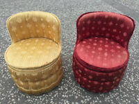Pair of Sherbonne Tub Chairs, in good condition and nice colours. £75 each free local delivery..