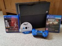PS4 console,New dual shock controller & 3 Top Games