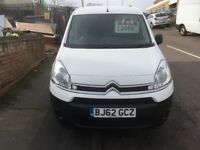 CITROEN BERLINGO VAN 1.6HDI 3 SEATER 2012/62REG 98K £3999 NO VAT