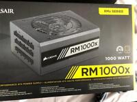 Corsair 1000 Watts psu boxed used and complete