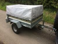 Noval Portaflot High Sided Tipping Trailer Garden Carboot Camping Halfords Tip