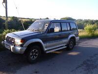 MITSUBUSHI SHOGUN LWB V6