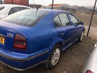 2000 Skoda octavia, 1.9 diesel, breaking for parts only, all parts available