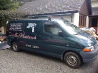 Plastering, rendering, tiling, kitchens and bathrooms