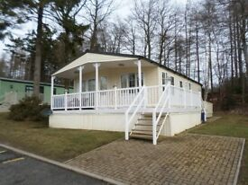 Stunning Brentmere Lodge for sale at 5 star Percy Wood Country Park at Swarland in Northumberland