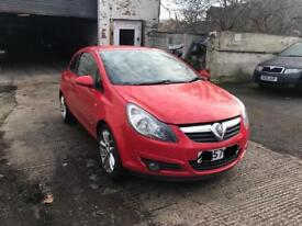 2007 VAUXHALL CORSA D SXI BREAKING Z14XEP ENGINE GEARBOX LIGHT AXLE SUSPENSION ALLOYS