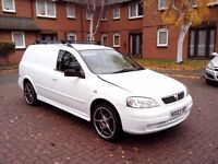 vauxhall astra dti van (slightly modified)
