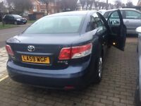 Toyota Avensis T2 d4d diesel can be PCO OR UBER SERVICE HISTORY nICE cAR