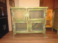 brand new 3ft 2 tier rabbit guinea pig hutch in green