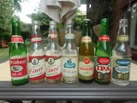 Vintage Beer Bottles and Cans