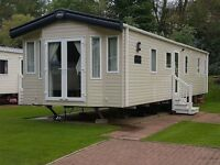 BARGAIN STATIC CARAVAN FOR SALE CO DURHAM**** 2014 **** 3 BED **** OWNERS ONLY **** 5 STAR PARK ****