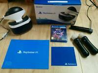 Psvr headset with extras
