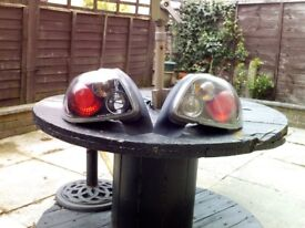 206 lexus stlye rear light clusters in black