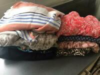 Bag of ladies summer clothes size 10-12