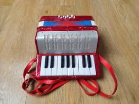 Childs Mini Accordion - Red
